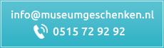 Contactgegevens museumgeschenken